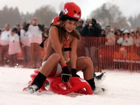 Girls nude sledding germany sarah